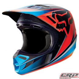 Casque cross FOX V4 Race Red 2015
