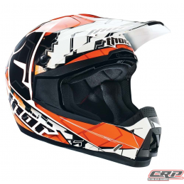 Casque cross THOR Quadrant Fragment Orange 2015