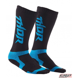 Chaussettes De Cross THOR Youth Mx Black Blue