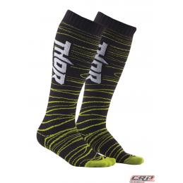 Chaussettes De Cross THOR Youth Mx Black Green