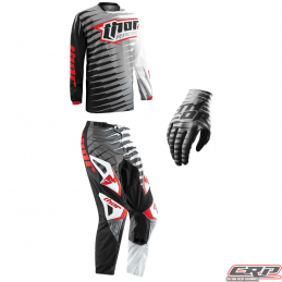 Tenue motocross THOR Youth Phase Vented Rift Gray 2015
