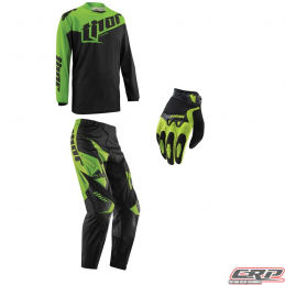 Tenue motocross THOR Youth Phase Tilt Green 2015