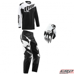 Tenue motocross THOR Youth Phase Tilt Black 2015