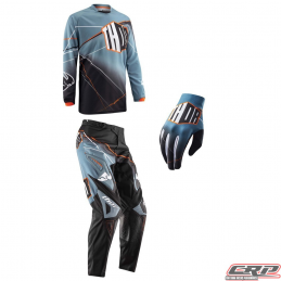Tenue motocross THOR Youth Phase Prism Steel 2015