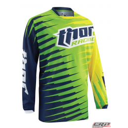 Maillot Cross THOR Youth Phase Vented Rift Lime 2015
