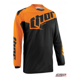 Maillot Cross THOR Youth Phase Tilt Orange 2015