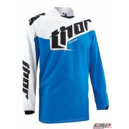 Maillot Cross THOR Youth Phase Tilt Blue 2015