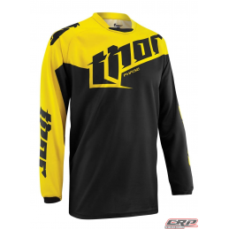 Maillot Cross THOR Youth Phase Tilt Yellow 2015