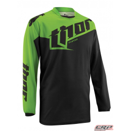 Maillot Cross THOR Youth Phase Tilt Green 2015