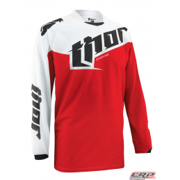 Maillot Cross THOR Youth Phase Tilt Red 2015