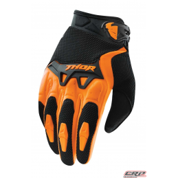 Gants Motocross THOR Youth Spectrum Orange 2015