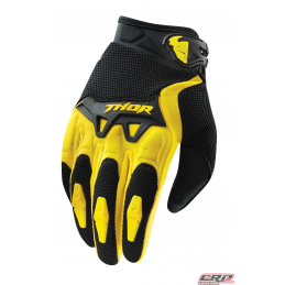 Gants Motocross THOR Youth Spectrum Yellow 2015