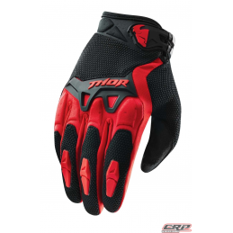 Gants Motocross THOR Youth Spectrum Red 2015