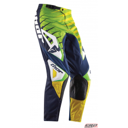 Pantalon Cross THOR Youth Phase Vented Rift Lime 2015