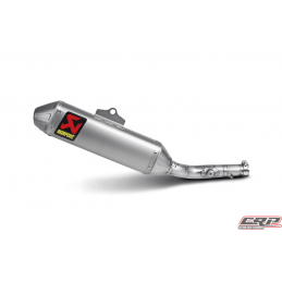Silencieux adaptable Titane Akrapovic SLIP-ON pour KAWASAKI KX 450 F (2009-2015)