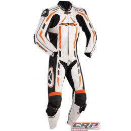 Combinaison cuir IXON 2014 Pulsar Air Orange/Blanc/Noir