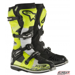 Bottes ALPINESTARS Tech 8 RS Yellow Black White