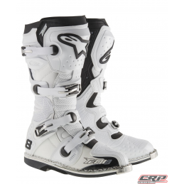 Bottes ALPINESTARS Tech 8 RS White Vented