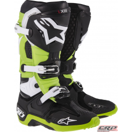 Bottes ALPINESTARS Tech 10 Black Green
