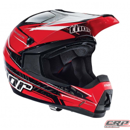 Casque cross THOR Quadrant Stripes Red 2015