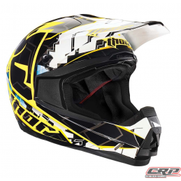 Casque cross THOR Quadrant Fragment Blue 2015