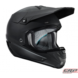 Casque cross THOR Verge Solid Matte Black 2015