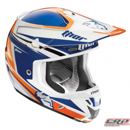 Casque cross THOR Verge Flex Navy Orange 2015