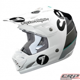 Casque Seven - Troy Lee Designs SE3 Supra white