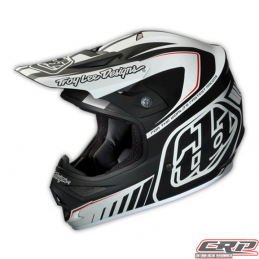 Casque Troy Lee Designs Air Delta matte white/black