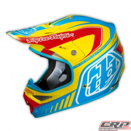 Casque Troy Lee Designs Air Delta yellow