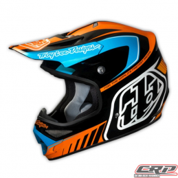 Casque Troy Lee Designs Air Delta orange