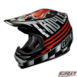 Casque Troy Lee Designs Air Ace black/silver
