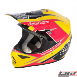 Casque Troy Lee Designs Air Stinger jaune rose 13