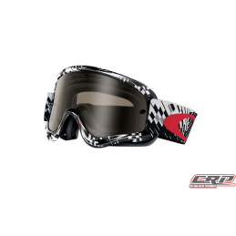 Masque Cross OAKLEY O Frame Sand MX Podium Check Fumé+Clair