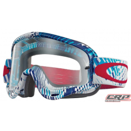 Masque Cross OAKLEY O Frame Podium Check RWB CLair