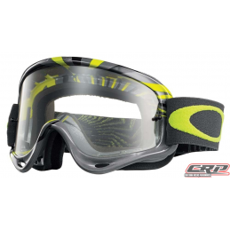 Masque Cross OAKLEY O Frame RPM Gun Metal/Green Clair