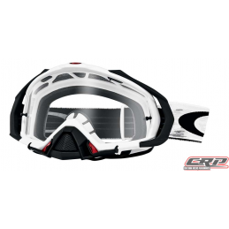Masque Cross OAKLEY Mayhem Pro Matte White Speed Clair