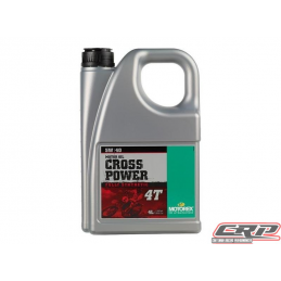 Huile Motorex Cross Power 4T 5W40 4L