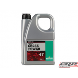 Huile Motorex Cross Power 4T 10W60 4L