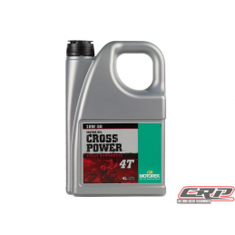 Huile Motorex Cross Power 4T 10W50 4L
