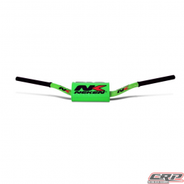 Guidon Neken fat bar 28.6mm vert Fluo