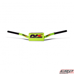 Guidon Neken fat bar 28.6mm jaune Fluo