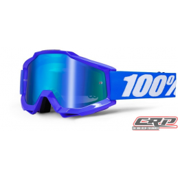 Masque Cross 100% The Accuri Reflex Blue Miroir