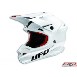 Casque cross UFO Interceptor Prime Blanc 2015