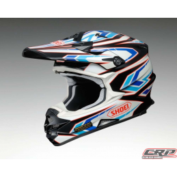 Casque cross SHOEI VFX Block Pass TC2
