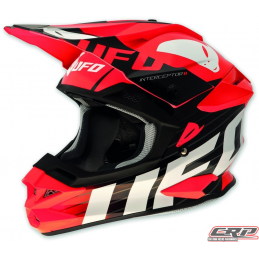 Casque cross UFO Interceptor 2 Red Devil 2015