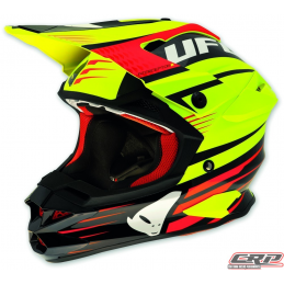Casque cross UFO Interceptor 2 Enemy 2015