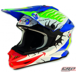 Casque cross UFO Interceptor 2 Joker 2015