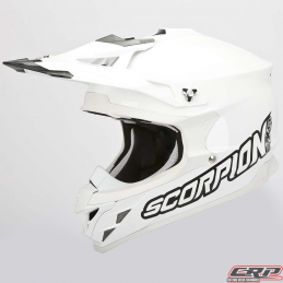 Casque cross SCORPION Vx-15 Evo Air Solid Blanc 2015
