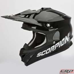 Casque cross SCORPION Vx-15 Evo Air Solid Noir 2015